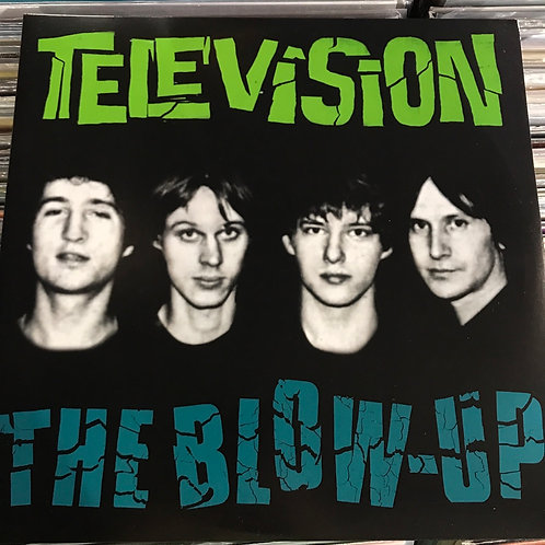 Television The Blow Up colored vinyl