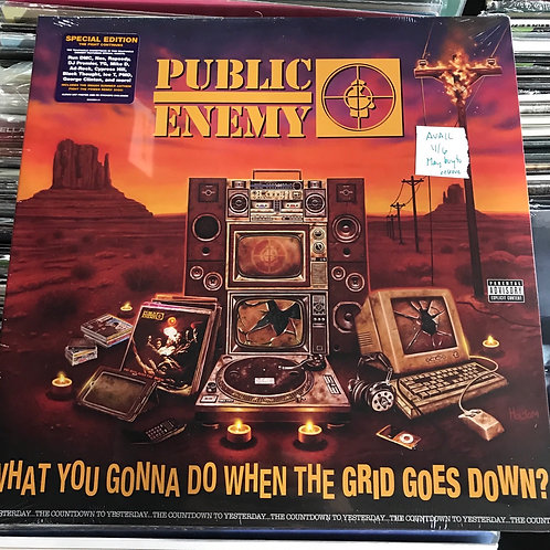 Public Enemy What You Gonna Do avail 11/6