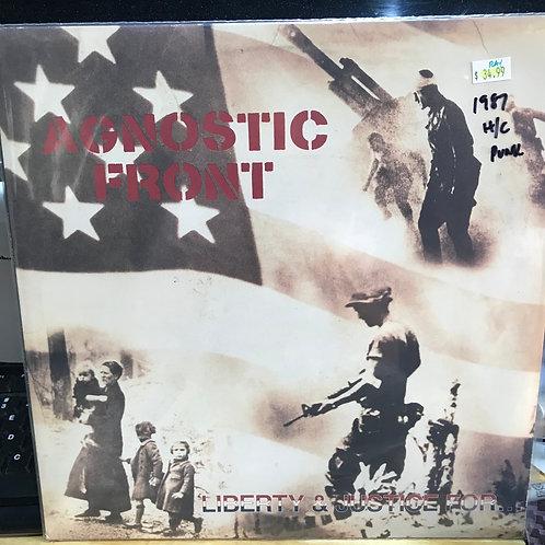 Agnostic Front Liberty & Justice 1987