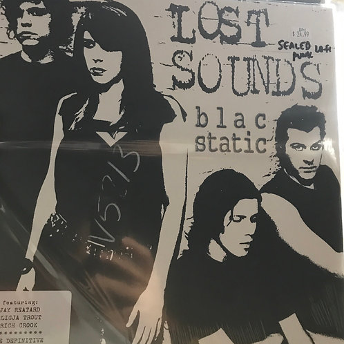 Lost Sounds blac static SEALED The Definitive Best of Collection