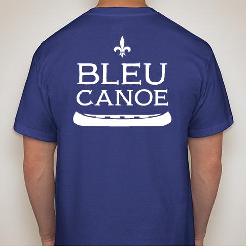 Classic Unisex Bleu Canoe T Shirt