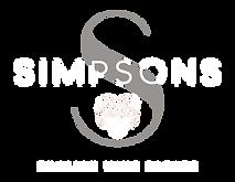 Simpsons logo white grey.png