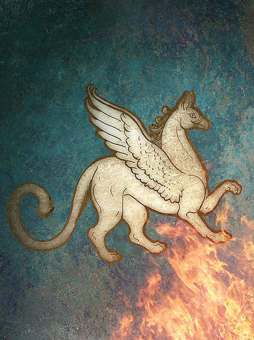 Hearth Guardian - Print - various sizes - $15 to $35