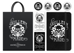 Skullery Made Business Collateral