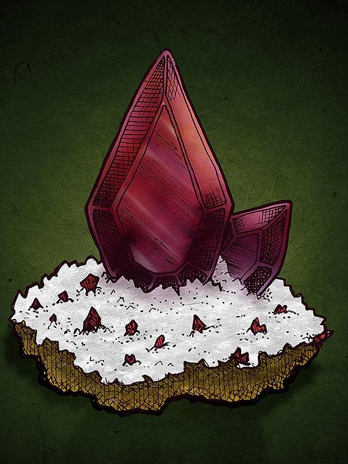 Dragon's Blood - Print - various sizes - $15 to $35