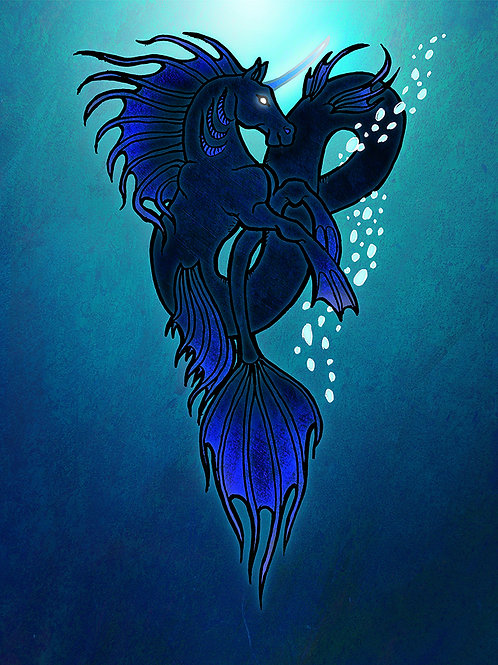 Deep Water - Print - various sizes - $15 to $35