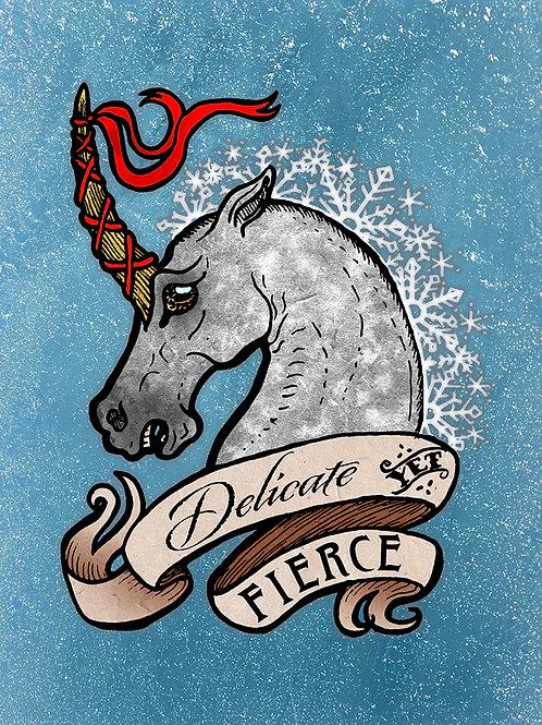 Fierce - Print - various sizes - $15 to $35