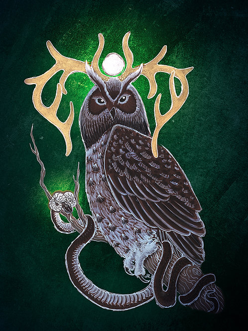 Forest Spirits - Print - various sizes - $15 to $35