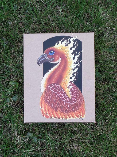 """Phoenix - 8""""x10"""" canvas print - $97"""