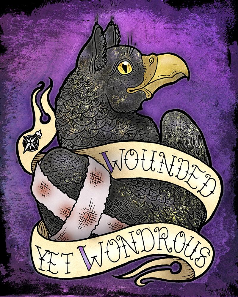 Wounded Yet Wondrous