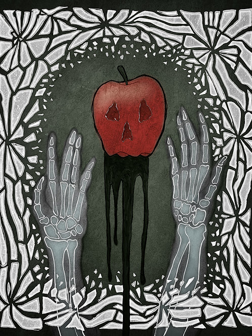 Poisoned Beauty - Print - various sizes - $15 to $35