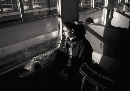 Girl on Train Holland