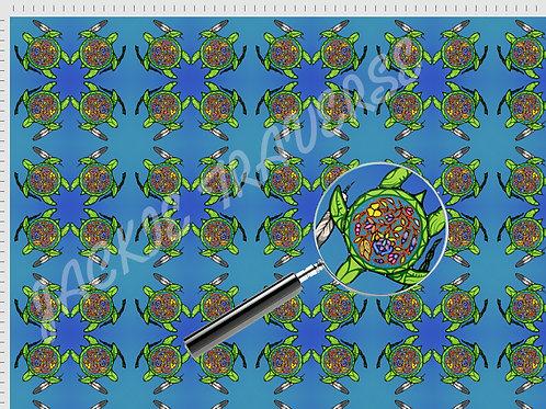 Turtle Island Medicine - Organic cotton fabric