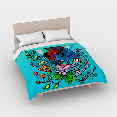 Duvet Cover (Full) - Kookums Universe Woodlands