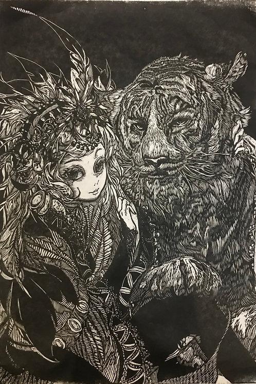 女孩和老虎—游鑫玥
