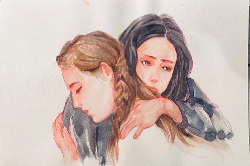 拥抱—刘黎