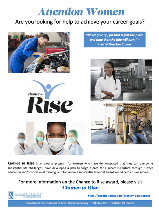 Chance to Rise Award