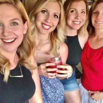 Ashley Hayes and sisters in law.jpg