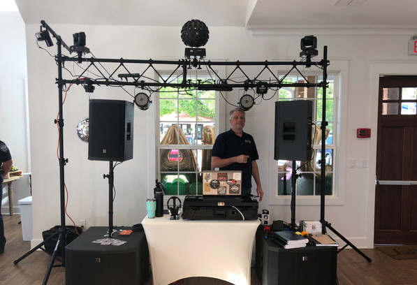 DJ Jerry and Sons are available for any event