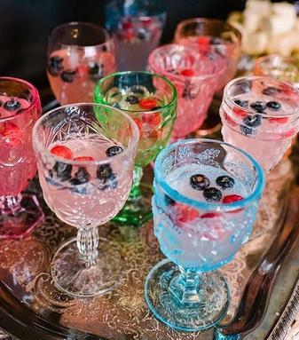 Multi Colored Goblets