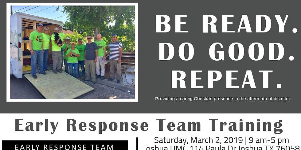 Early Response Team Training