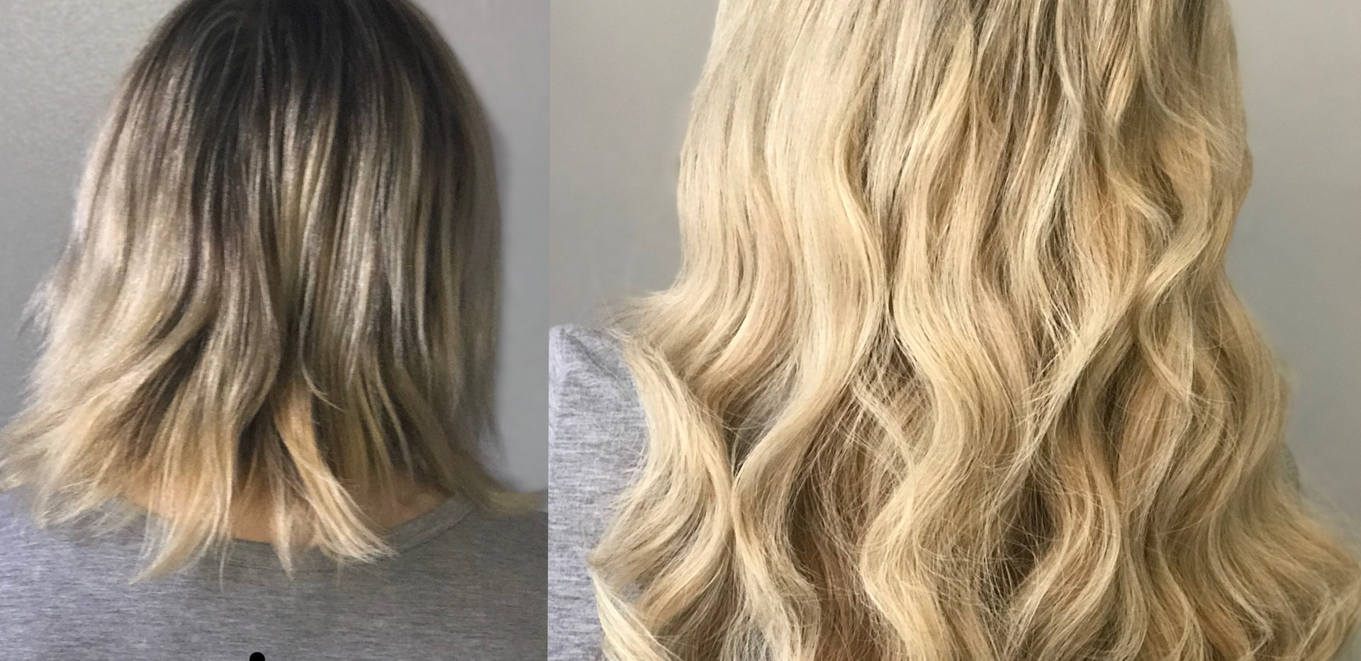 Smart Hair Extensions add length and fullness