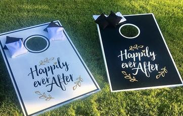 Happily Ever After Cornhole