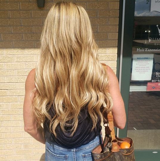 After Smart Hair Extensions