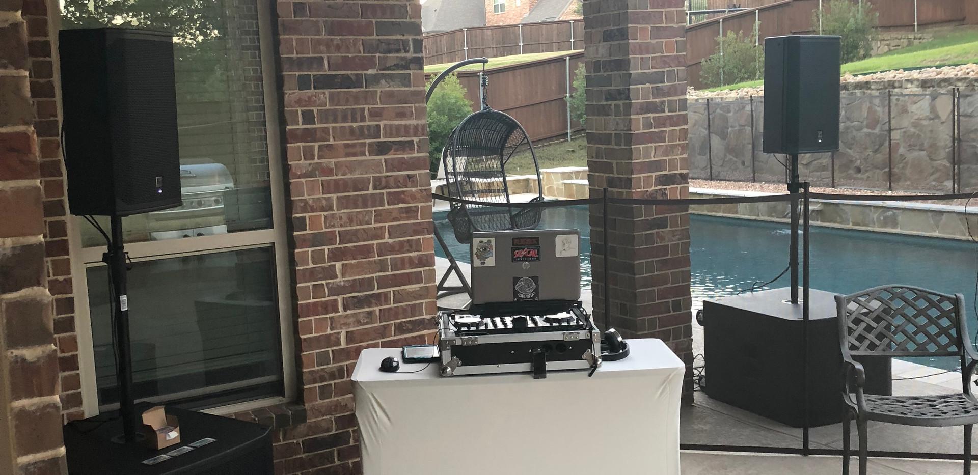 House Party DJ Setup