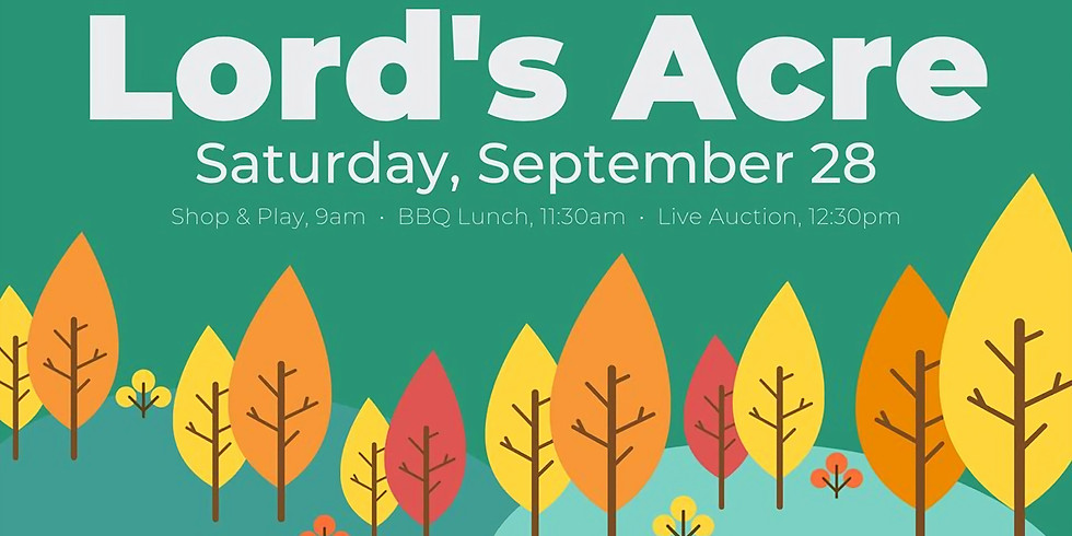 Lord's Acre Ministry Celebration