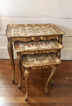 Hollywood Regency Nesting Tables
