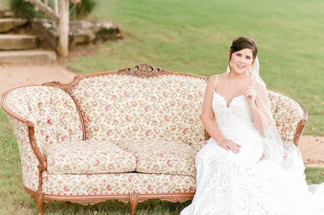 """""""Alexandrite"""" Pink Floral Antique Couch"""