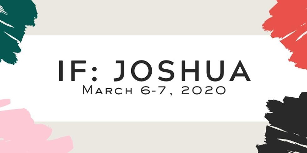 IF: Joshua 2020