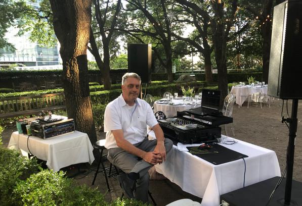DJ Jerry at a Wedding