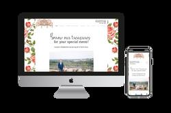 Borrowed Treasures Website Design