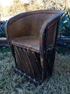 """""""Winston"""" Leather Equipale Chair"""