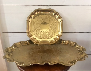 Various Brass Trays