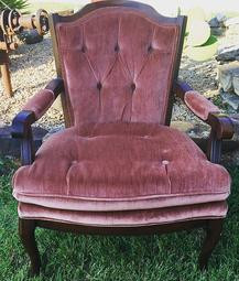 """""""Rose"""" Dusty Rose Chair"""