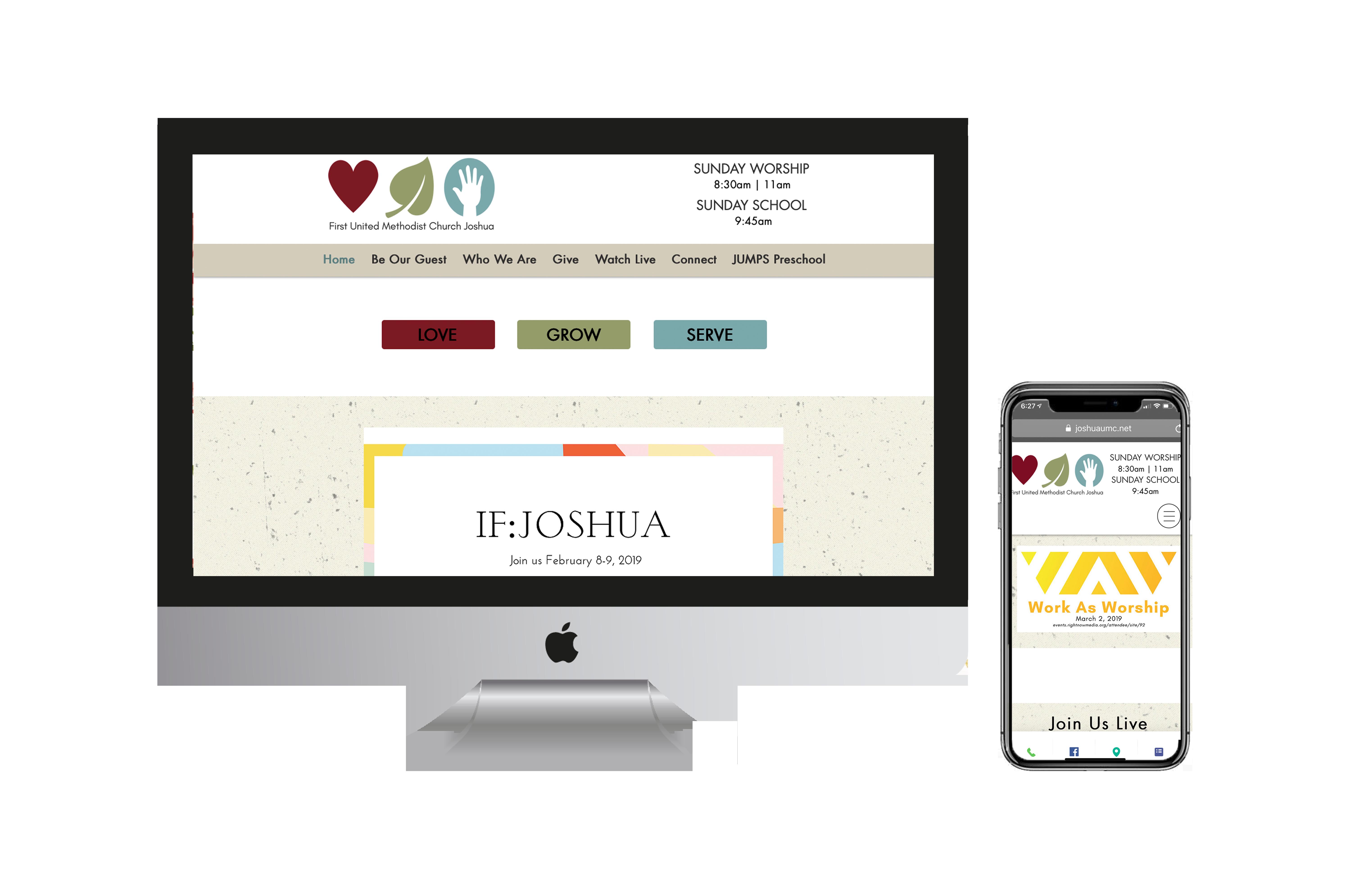 FUMC Joshua Website