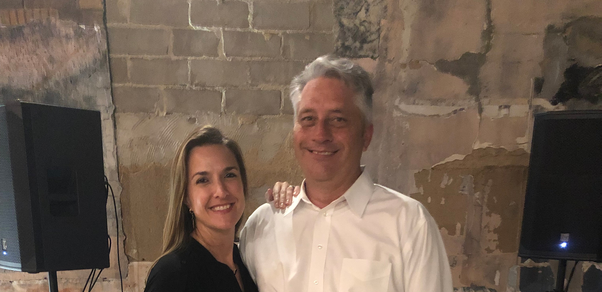 DJ Jerry and his wife, Christa