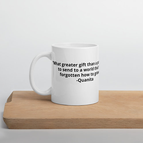 Mug: What greater gift than a pandemic