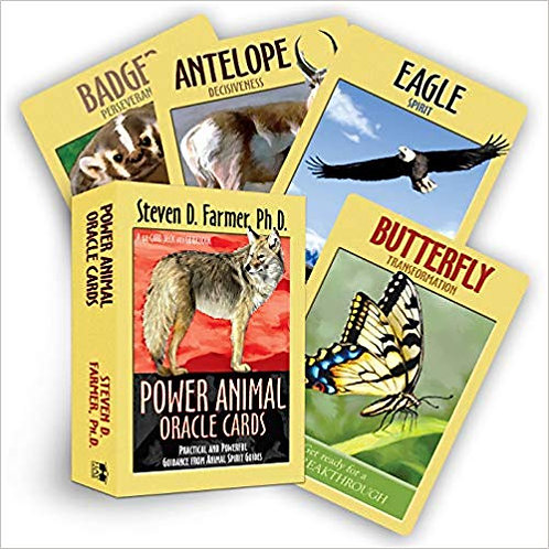 44 Card Deck Power Animal Oracle Cards
