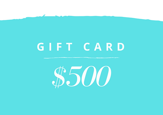 500 USD Gift Card