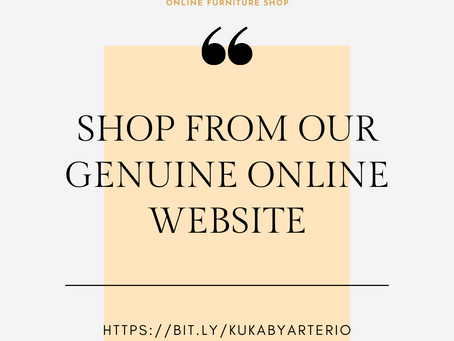 8 REASONS WHY TO BUY FROM OUR ONLINE STORE!