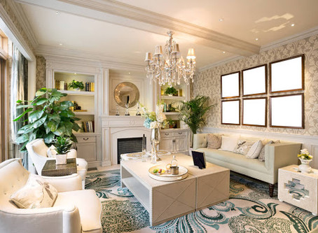 GLAM UP YOUR SPACE QUICKLY AND EASILY!