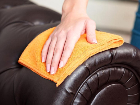 Top 3 ways to Clean Leather Furniture