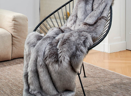 HOW TO DECORATE YOUR SPACE WITH FAUX FUR
