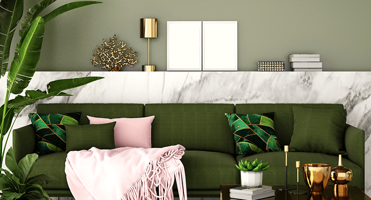 Brighten up your room with the power of color pops!