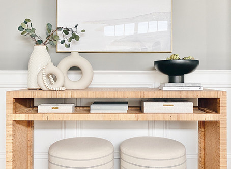 STYLE A CONSOLE TABLE PROFESSIONALLY!!
