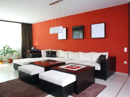 Paint an Accent Wall to revitalize any room!!
